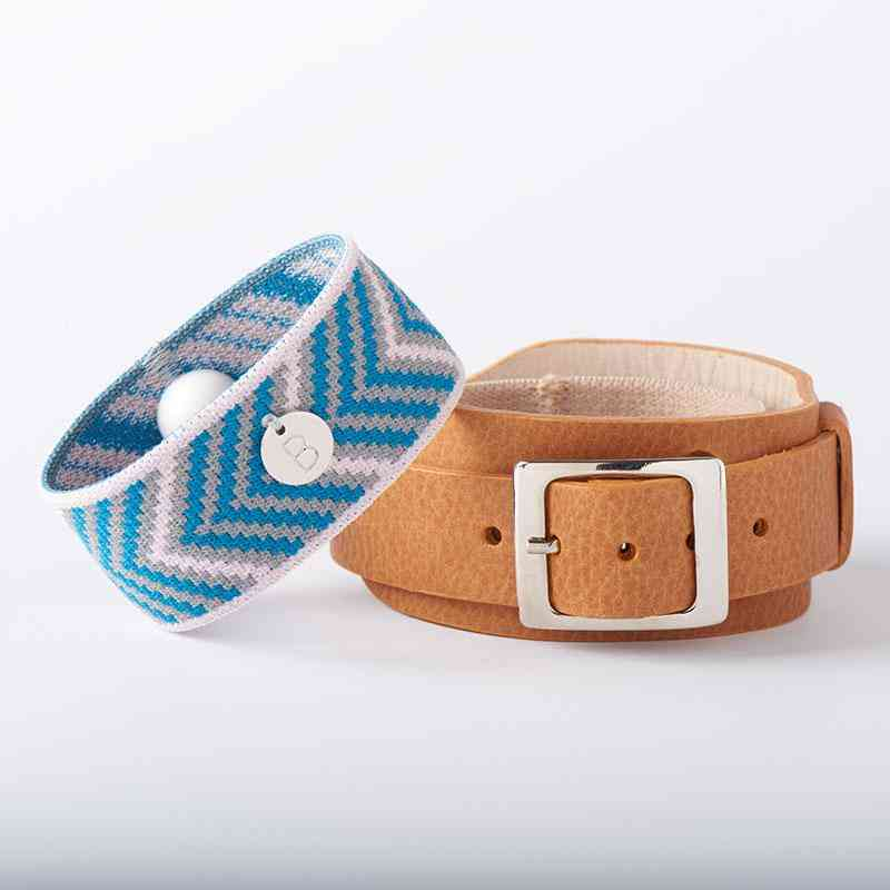 Lucy Watch-style Leather Bracelet