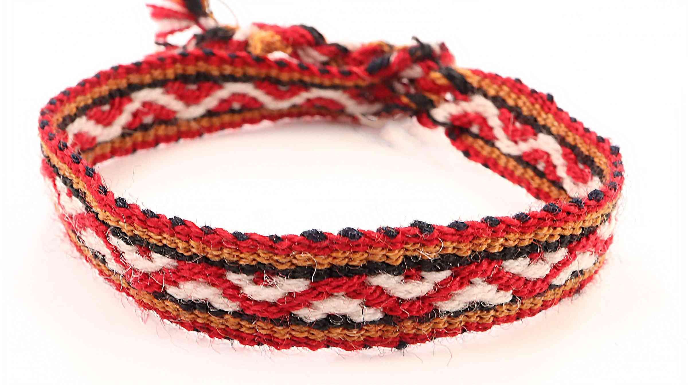 Alpaca Blend Textile Tie Bracelets