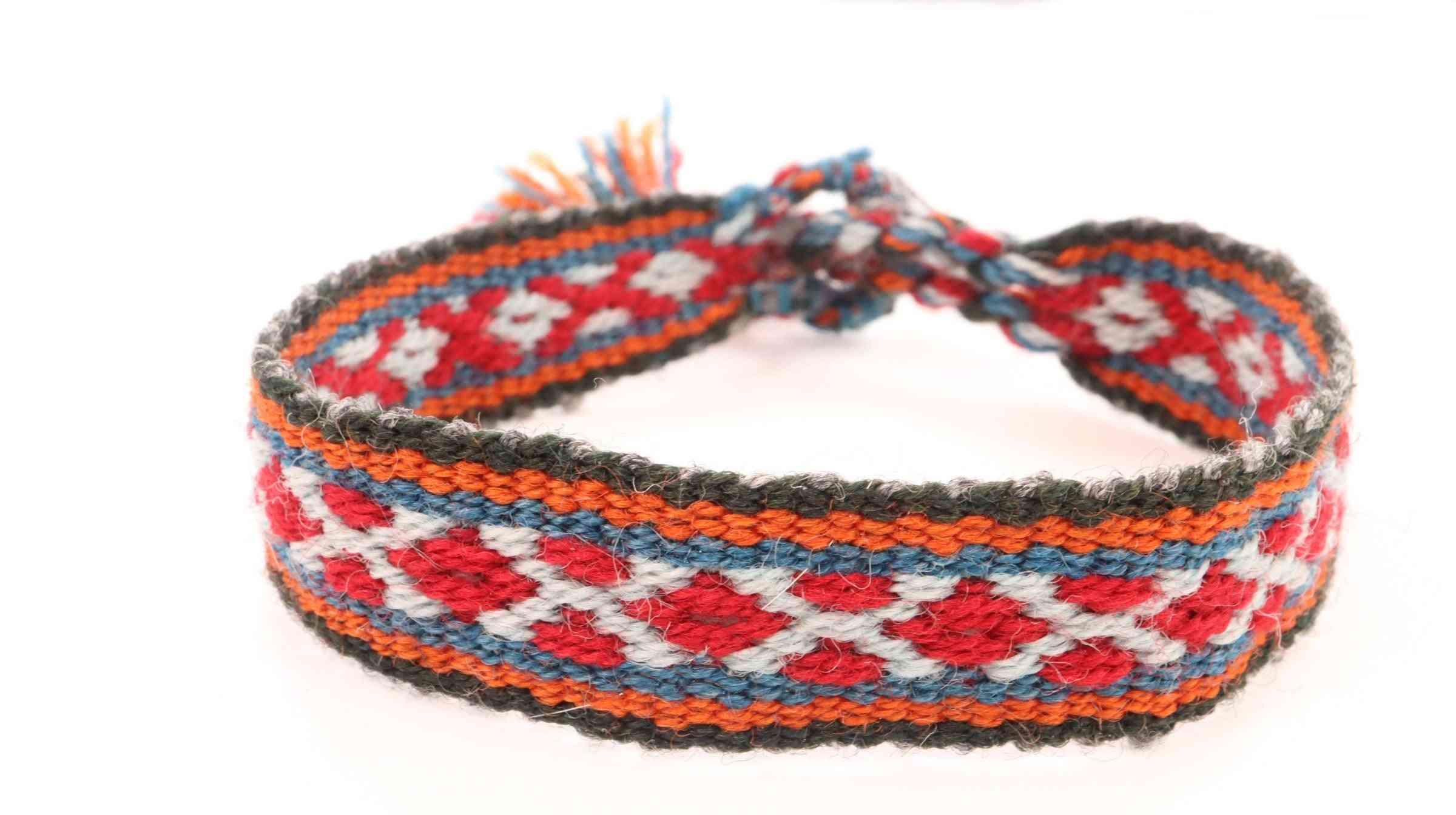 Alpaca Blend Tie Bracelets