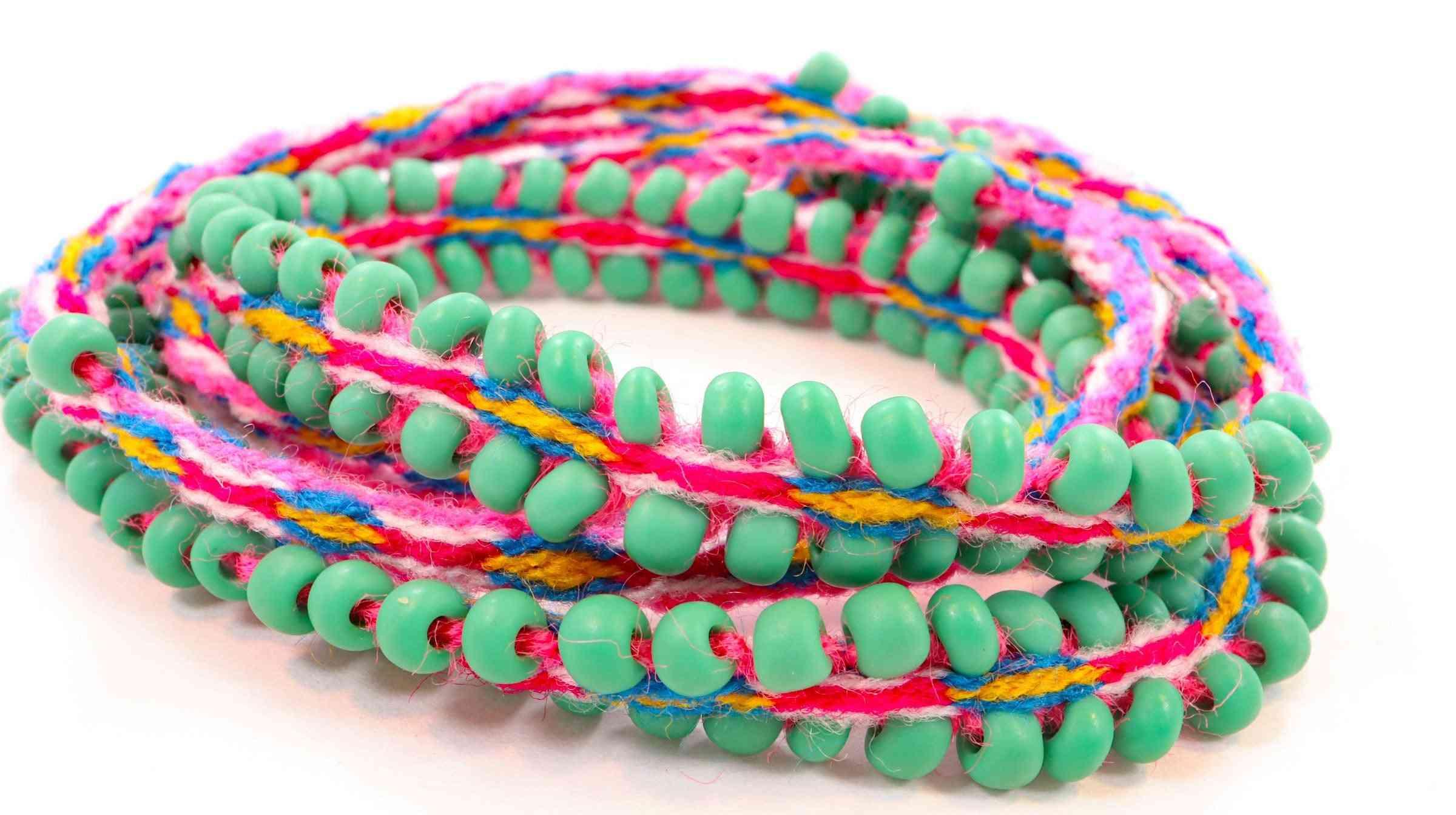 Handwoven Alpaca Blend Wrap Bracelets
