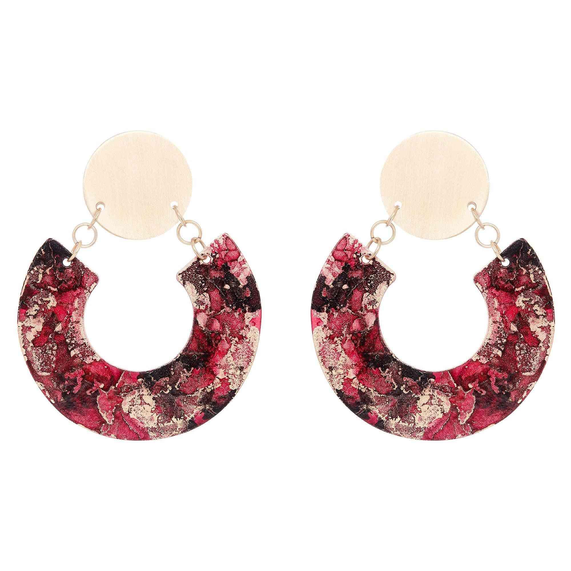 Horseshoe Shape Earrings