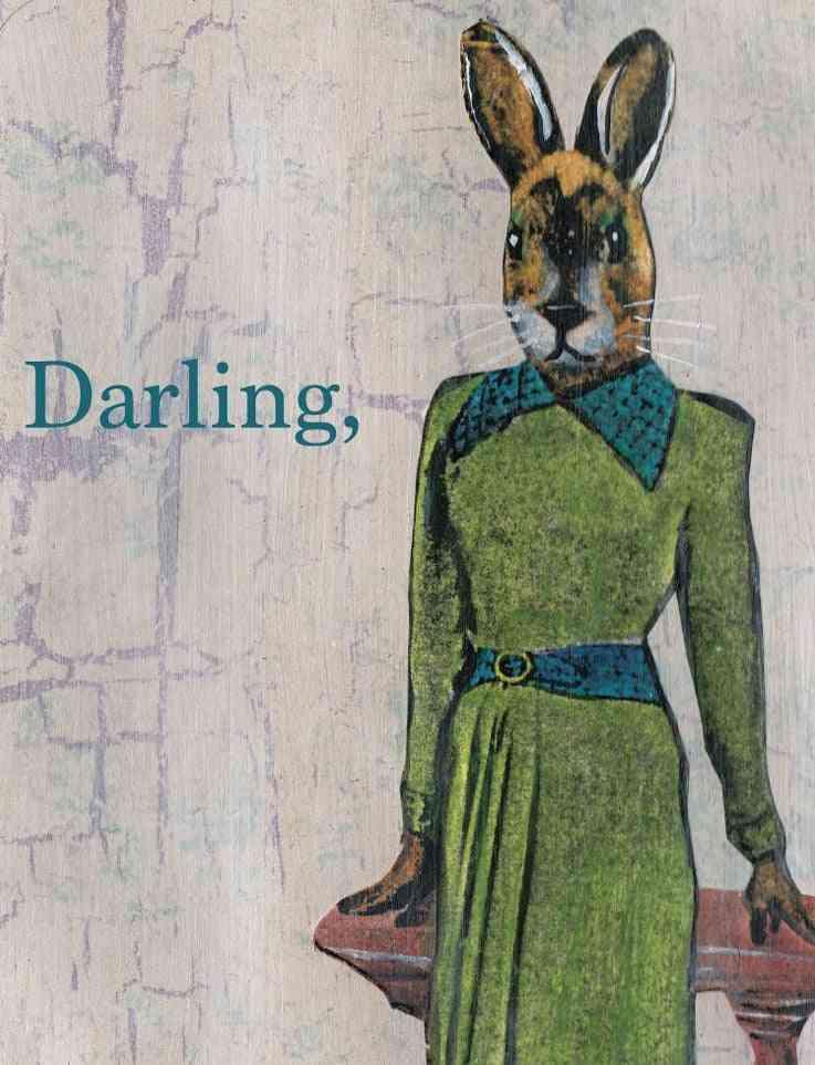 Darling Fancy Rabbit Card