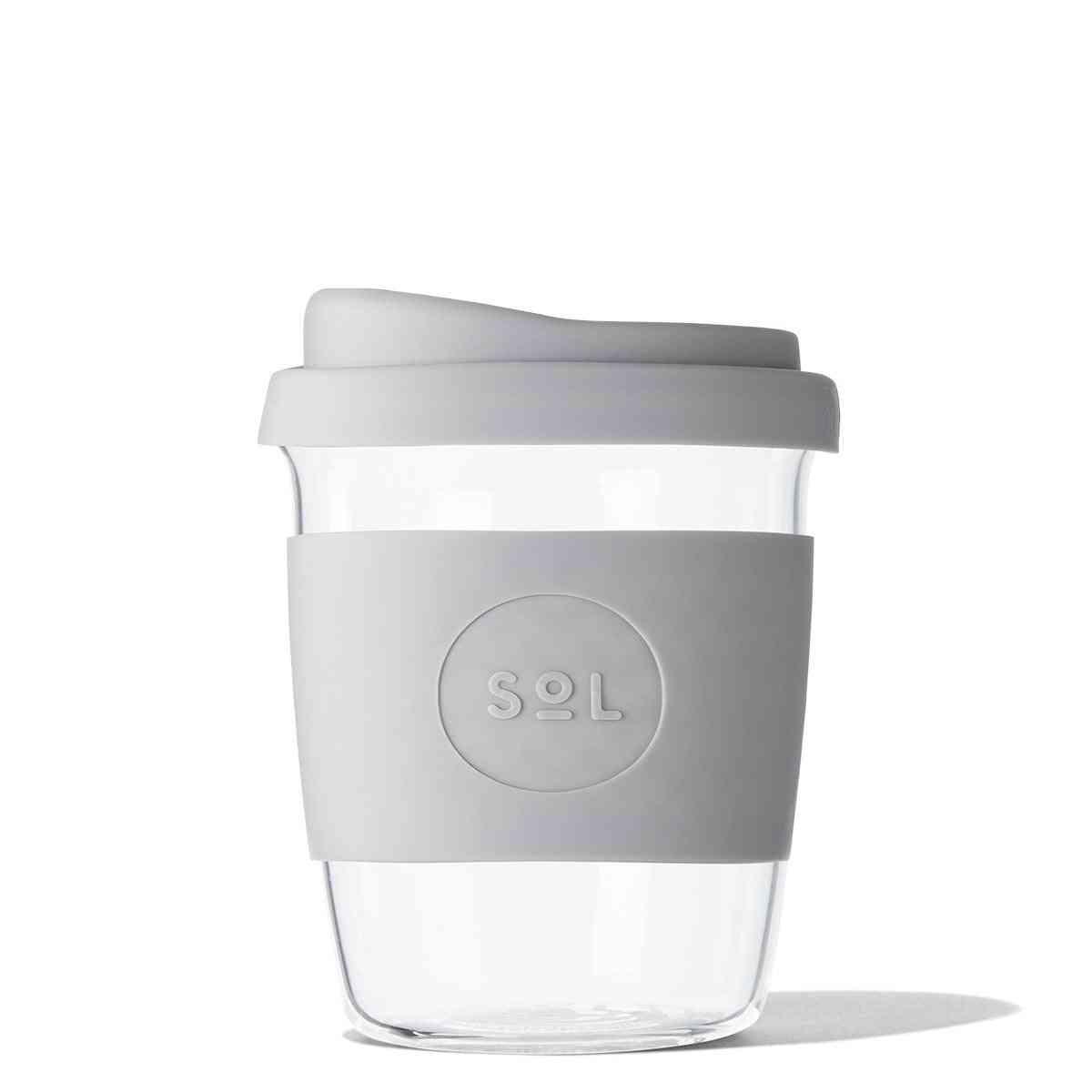 Cool Cyan Borosilicate Glass Cup
