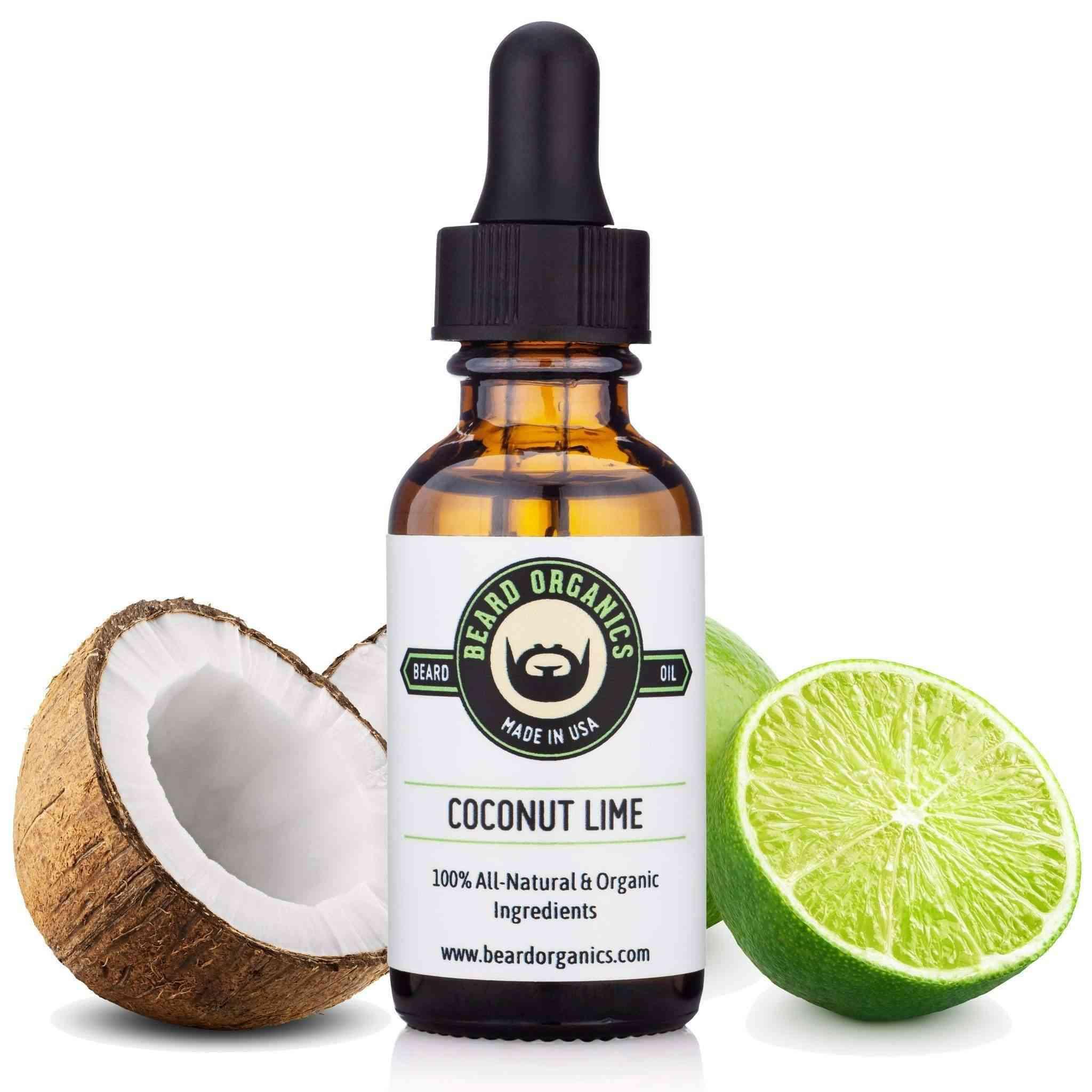 Coconut Lime Beard Oil