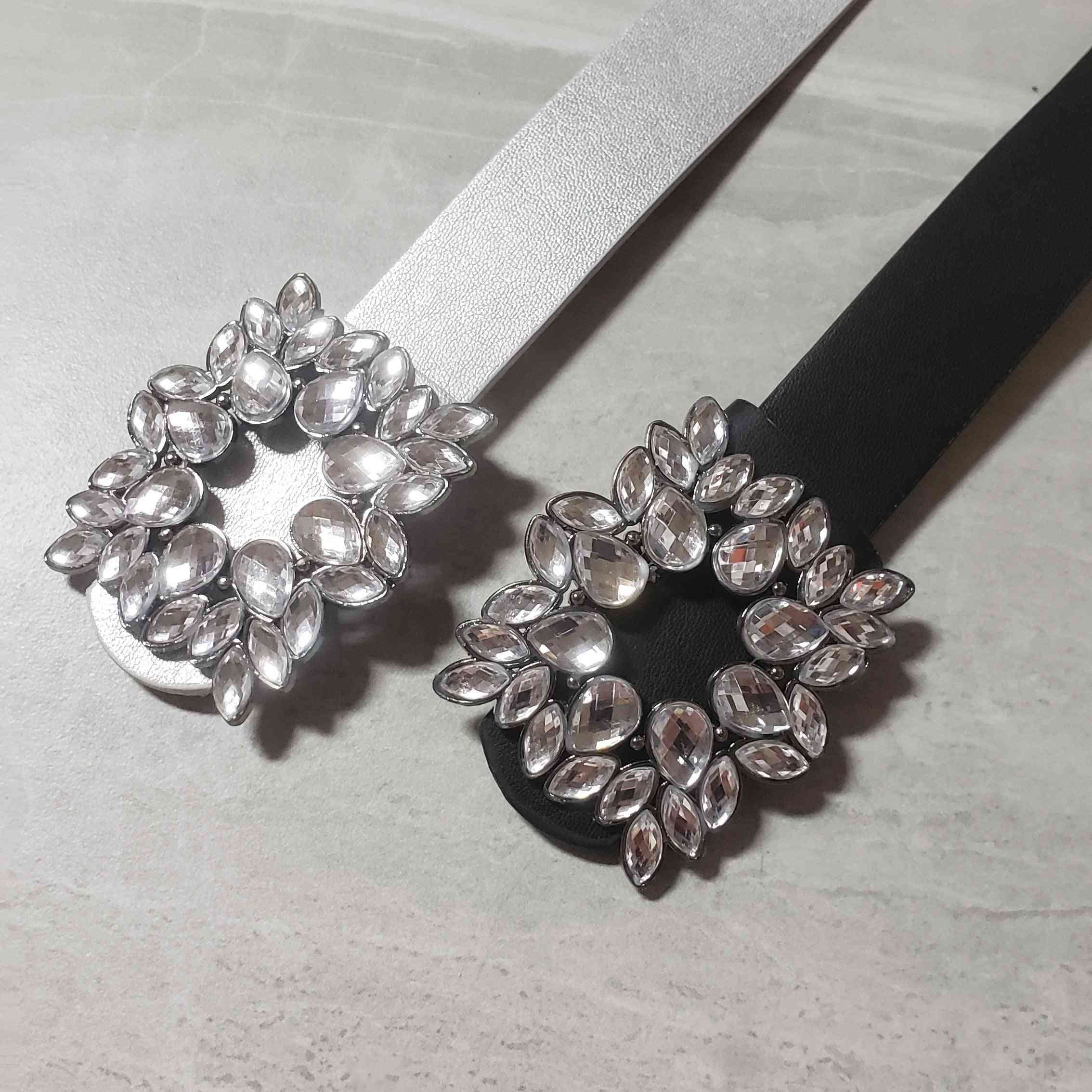 Mirror Stone Waist Belt