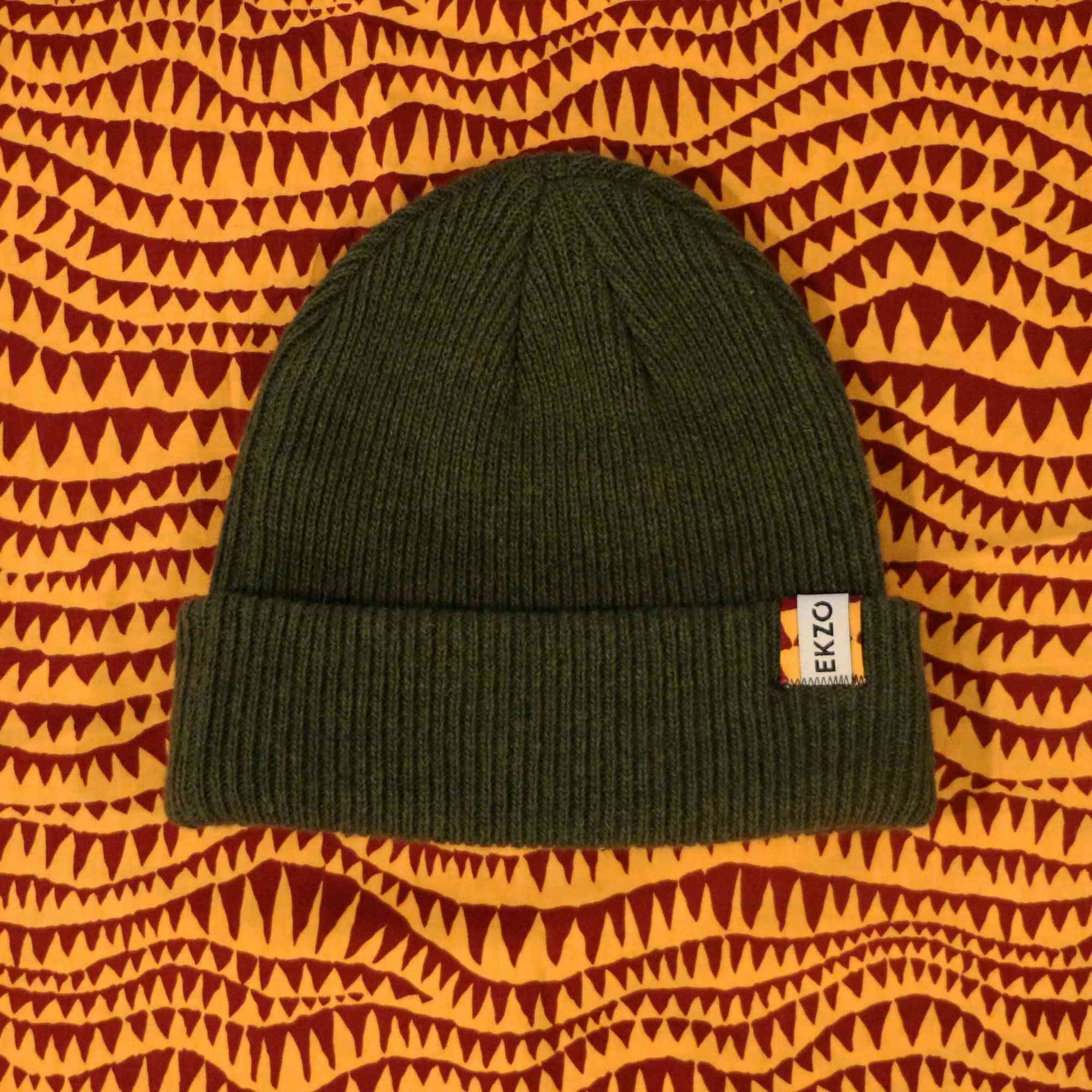 Soft And Cozy Wool Beanie Caps-green