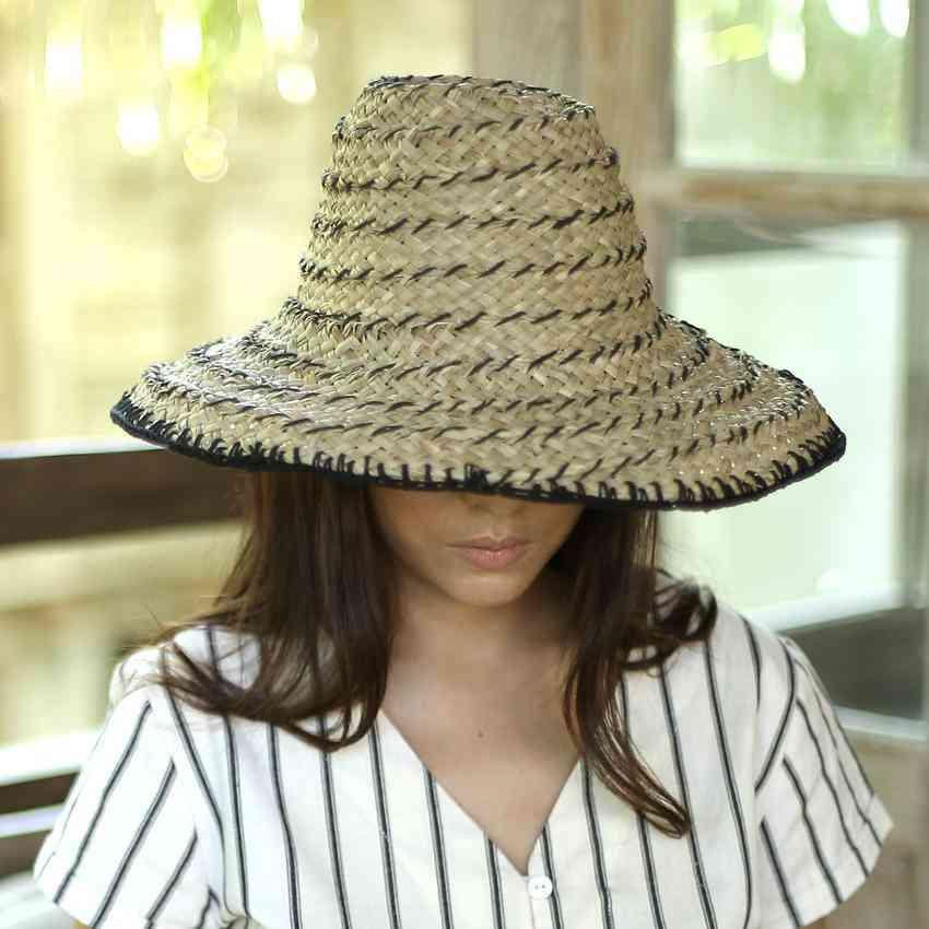 Pecatu Bucket Straw Hat