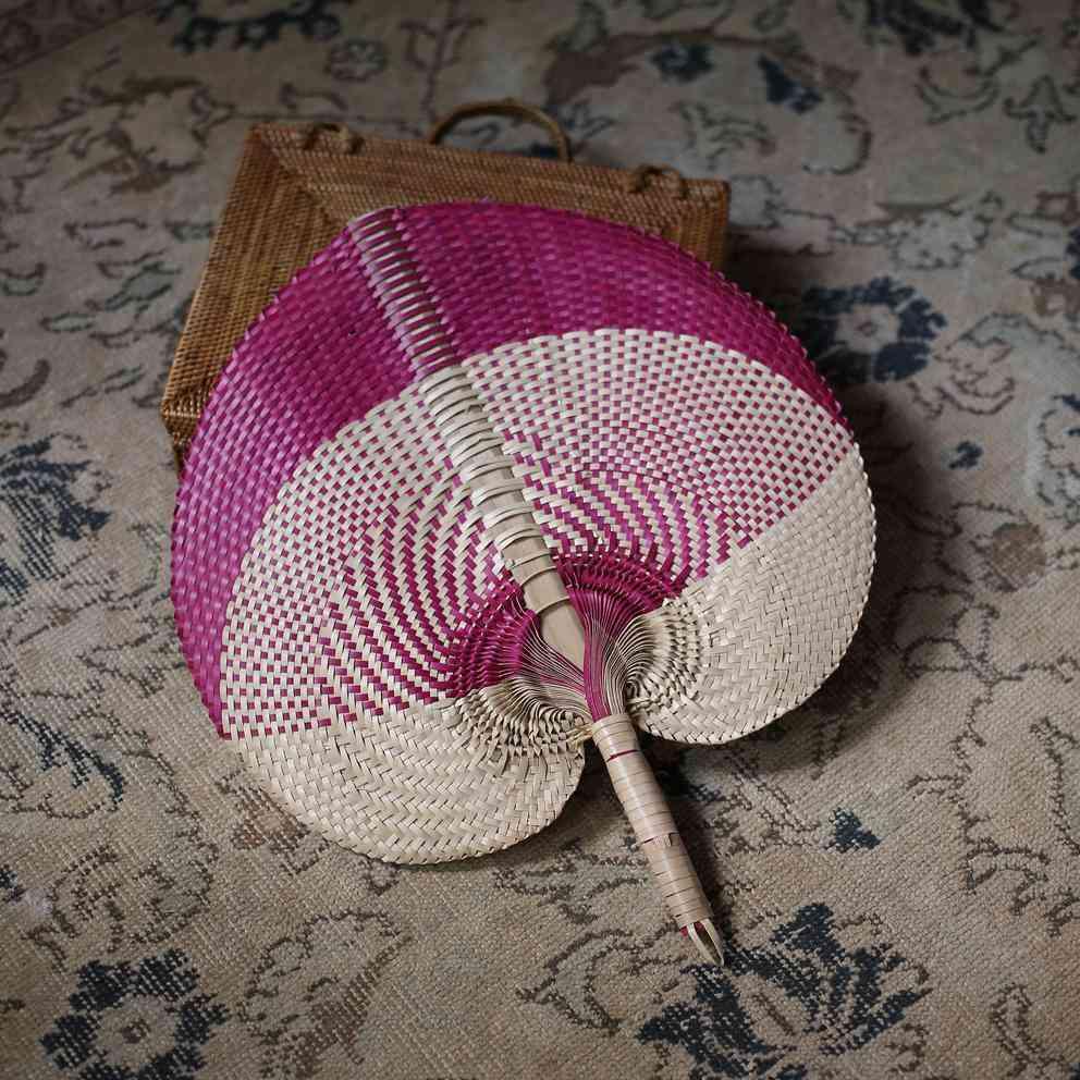 Hand Woven Lontar Palm Straws