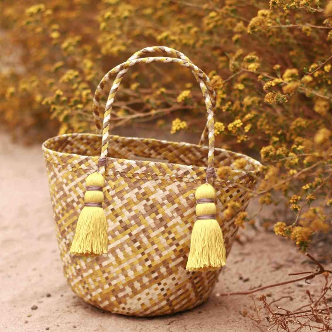 Coco Palm Straw Bag