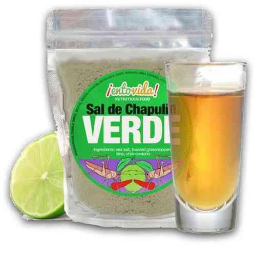 Exotic Flavour Grasshopper Salt