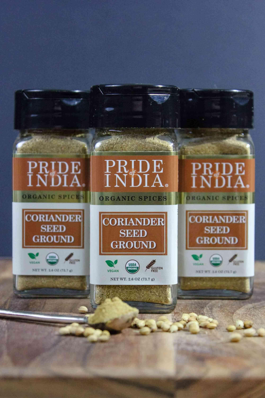 Organic Coriander Seed Ground