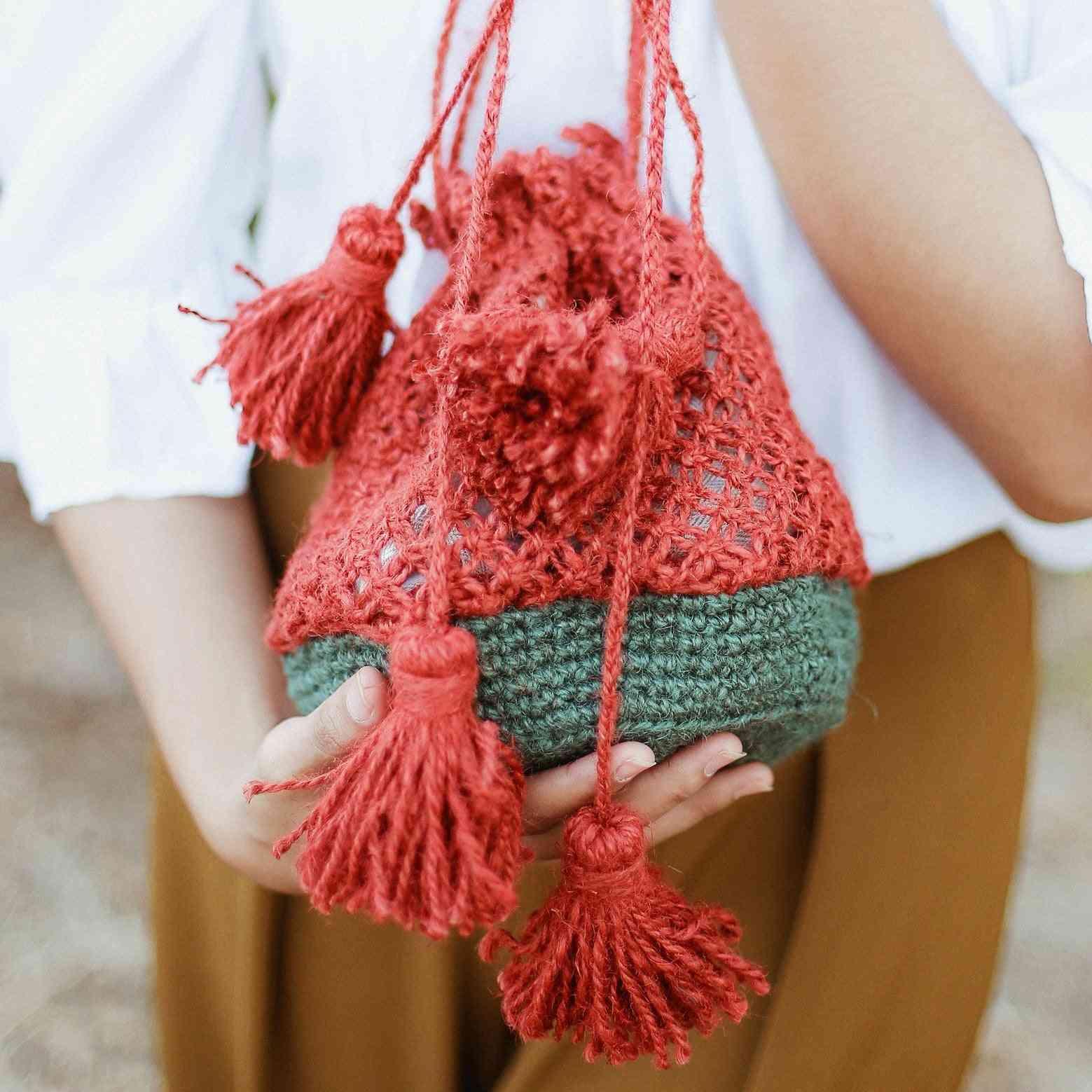 Watermelon Design Jute Bag