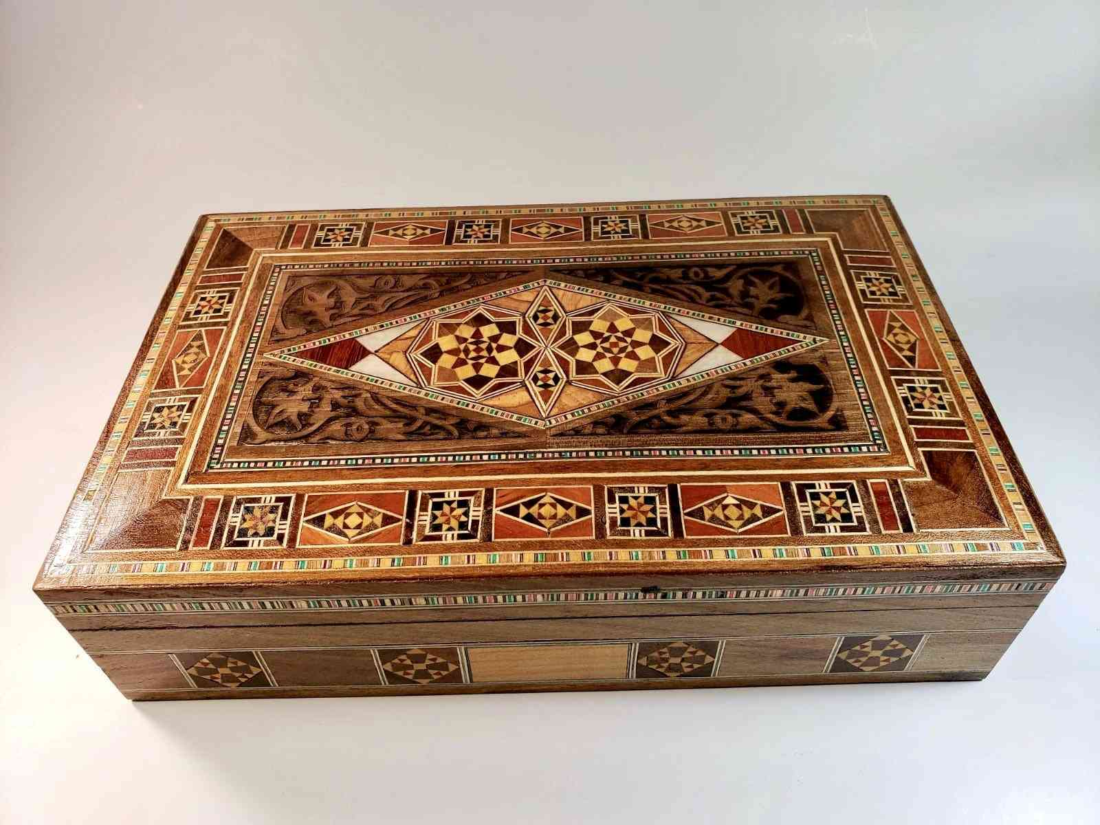 Engraved Multipurpose Wooden Box