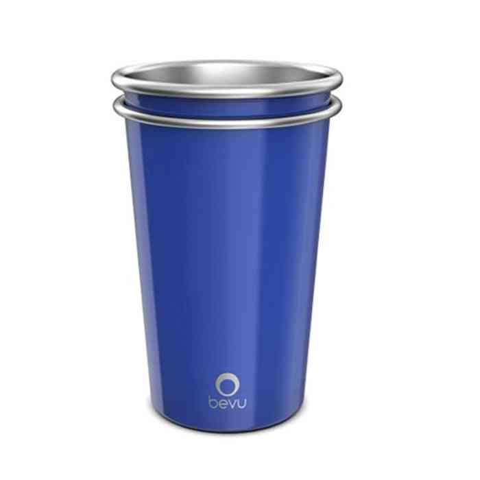 Fiesta Steel Cups Cobalt
