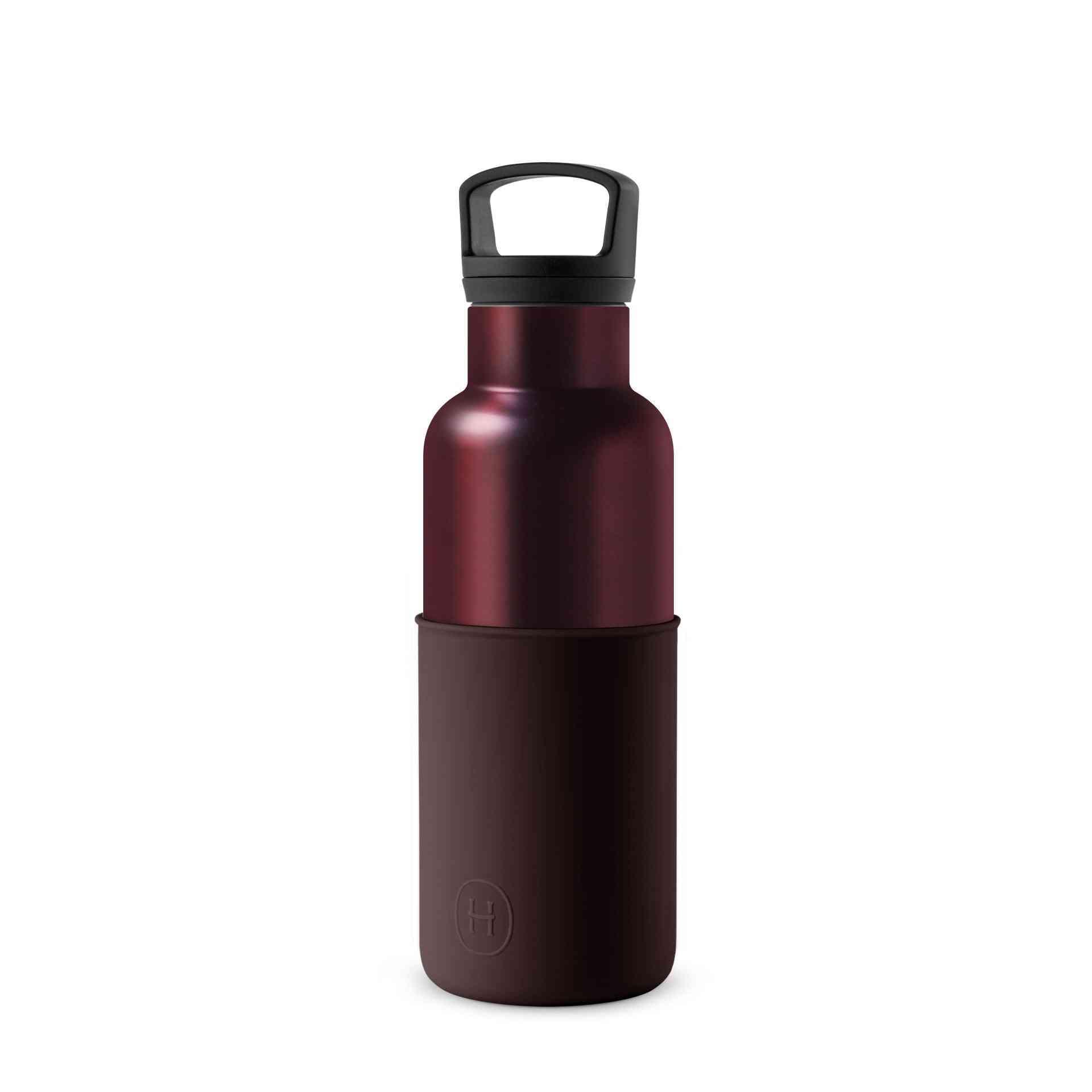 Burgundy Black Cherry 16 Oz Water Bottle