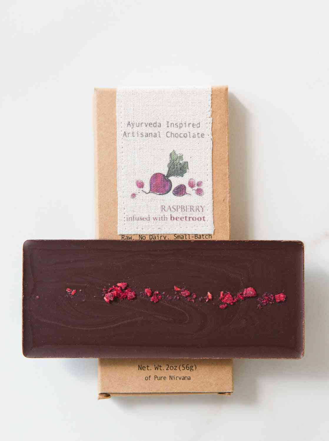 Raspberry With Beetroot Chocolate Bar