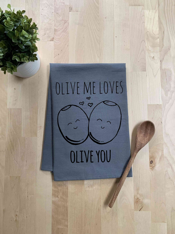 Olive Me Loves-dish Towel