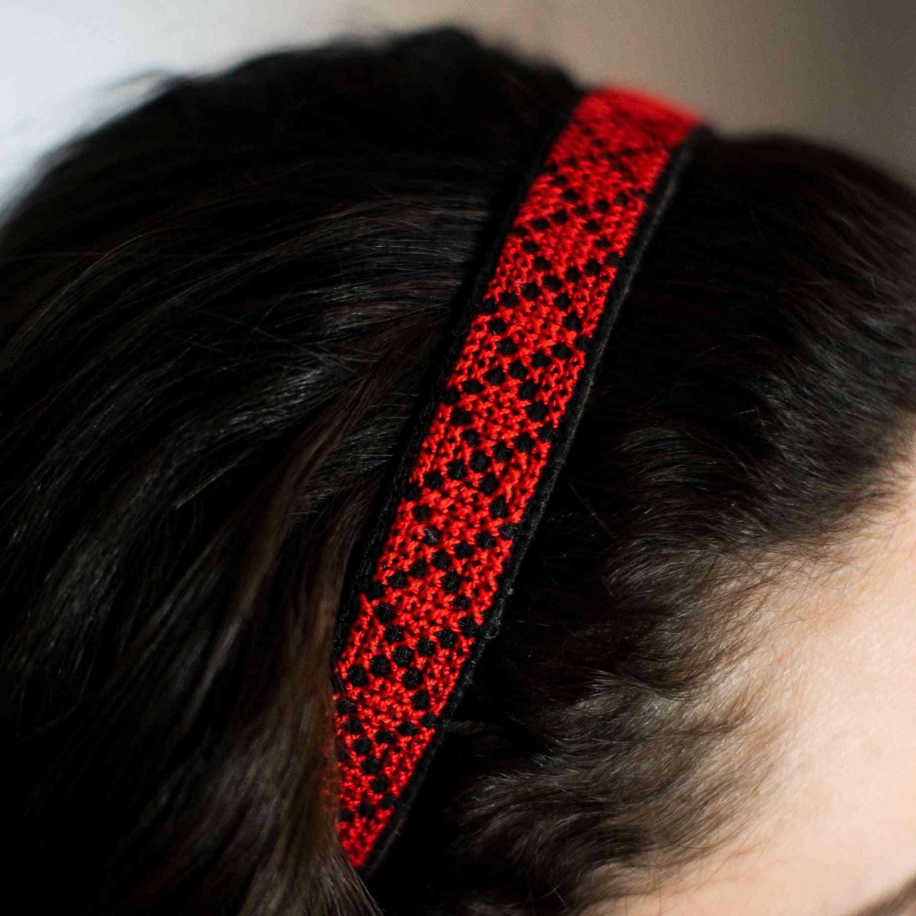 Traditional Palestinian Design Headband