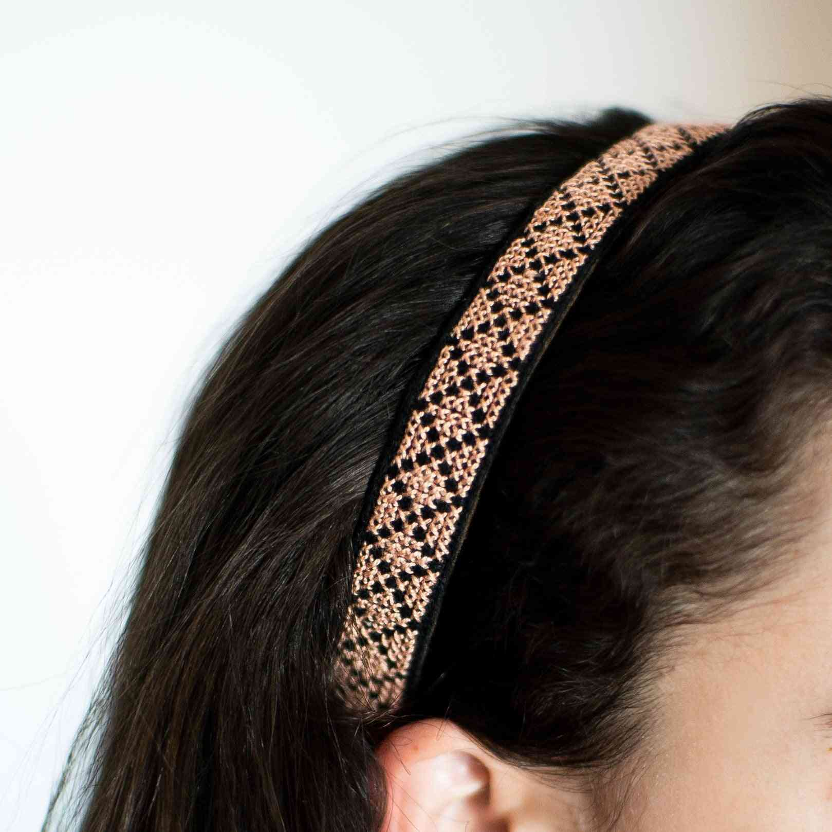 Embroidered Traditional Headband For