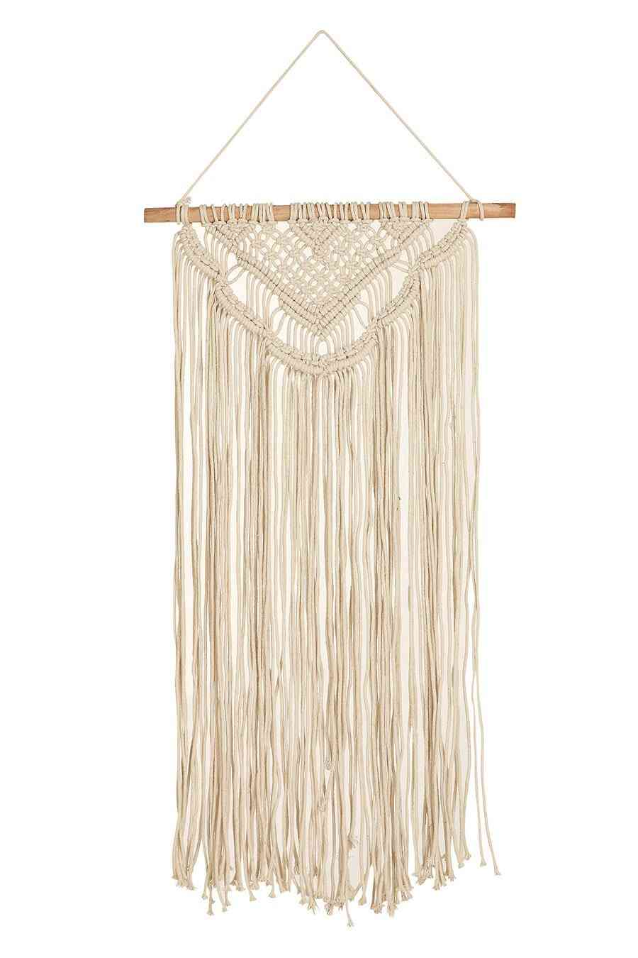 Handmade Macrame Modern Bohemian Style Tapestry