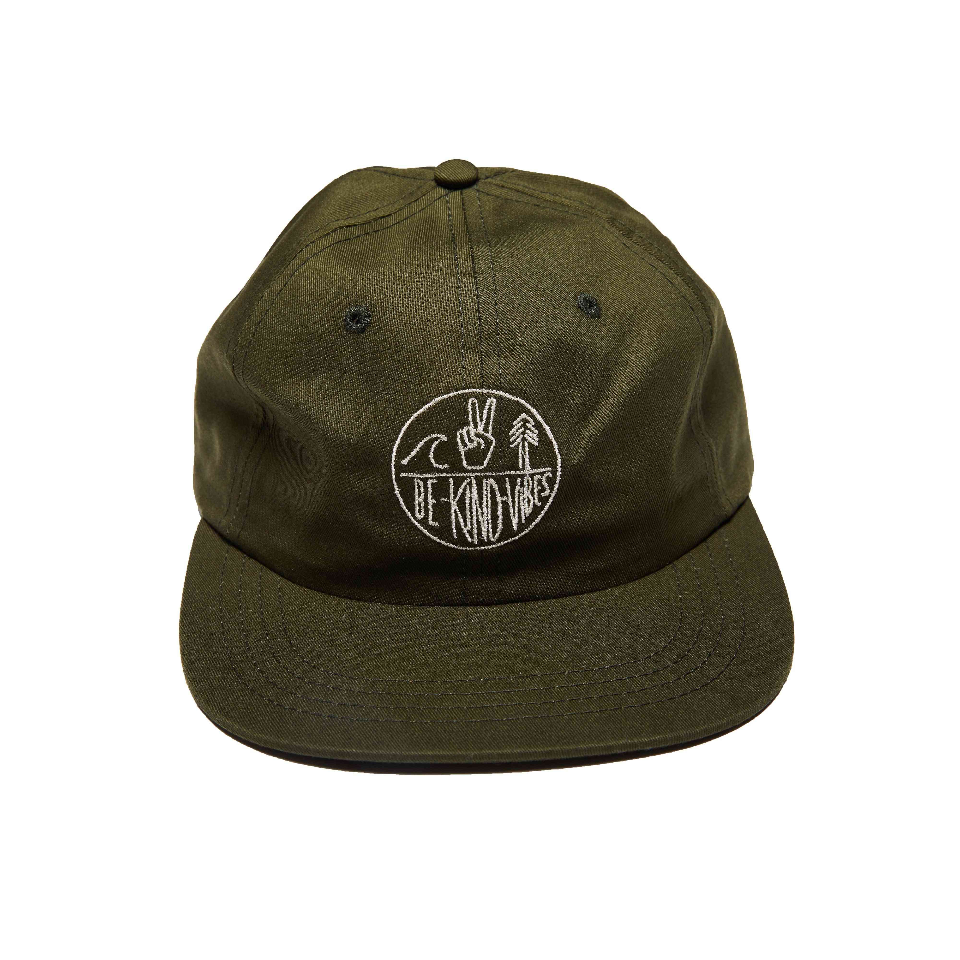 Soft Cotton Twill Camp Hat With Adjustable Back Strap