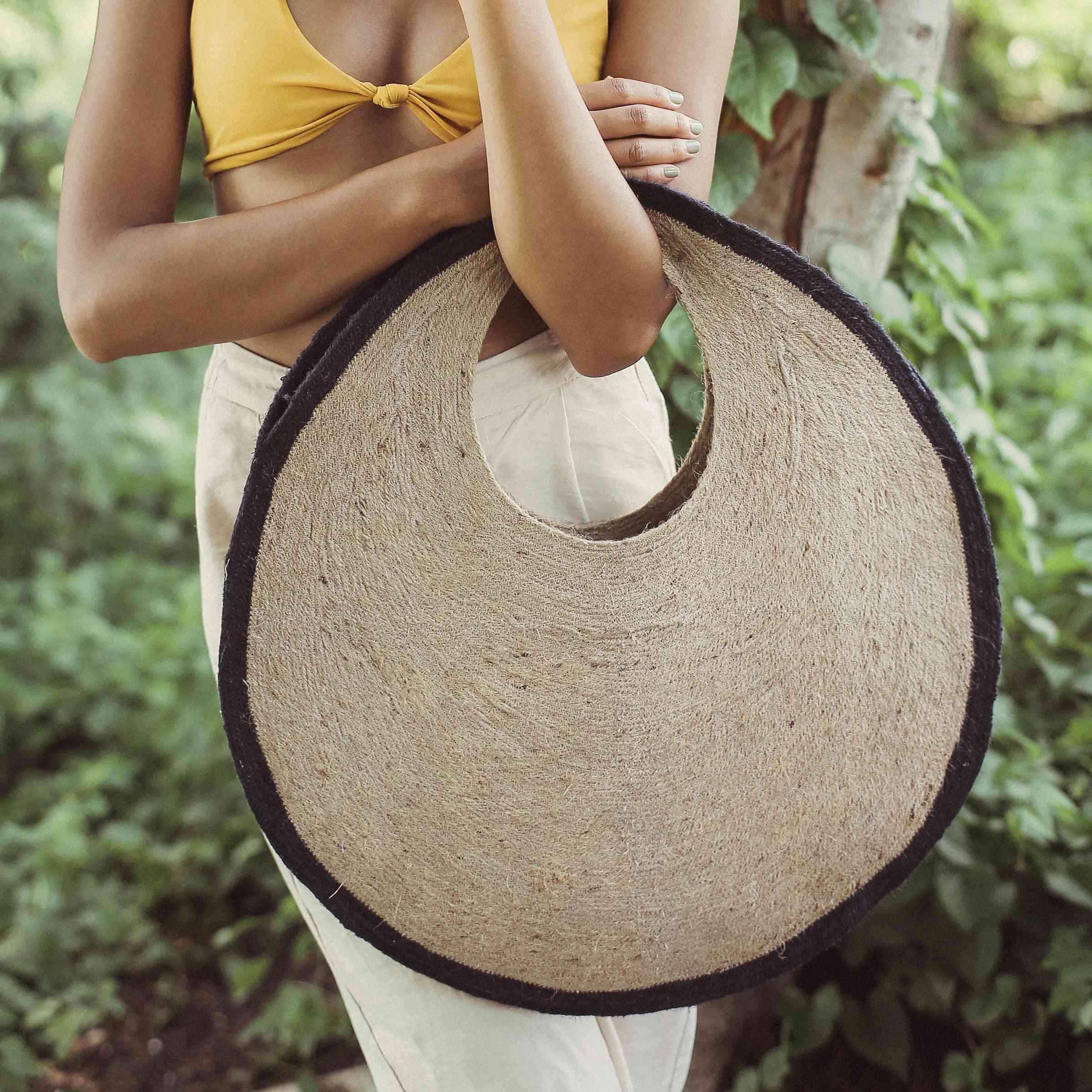 Natural Jute Straw Bag