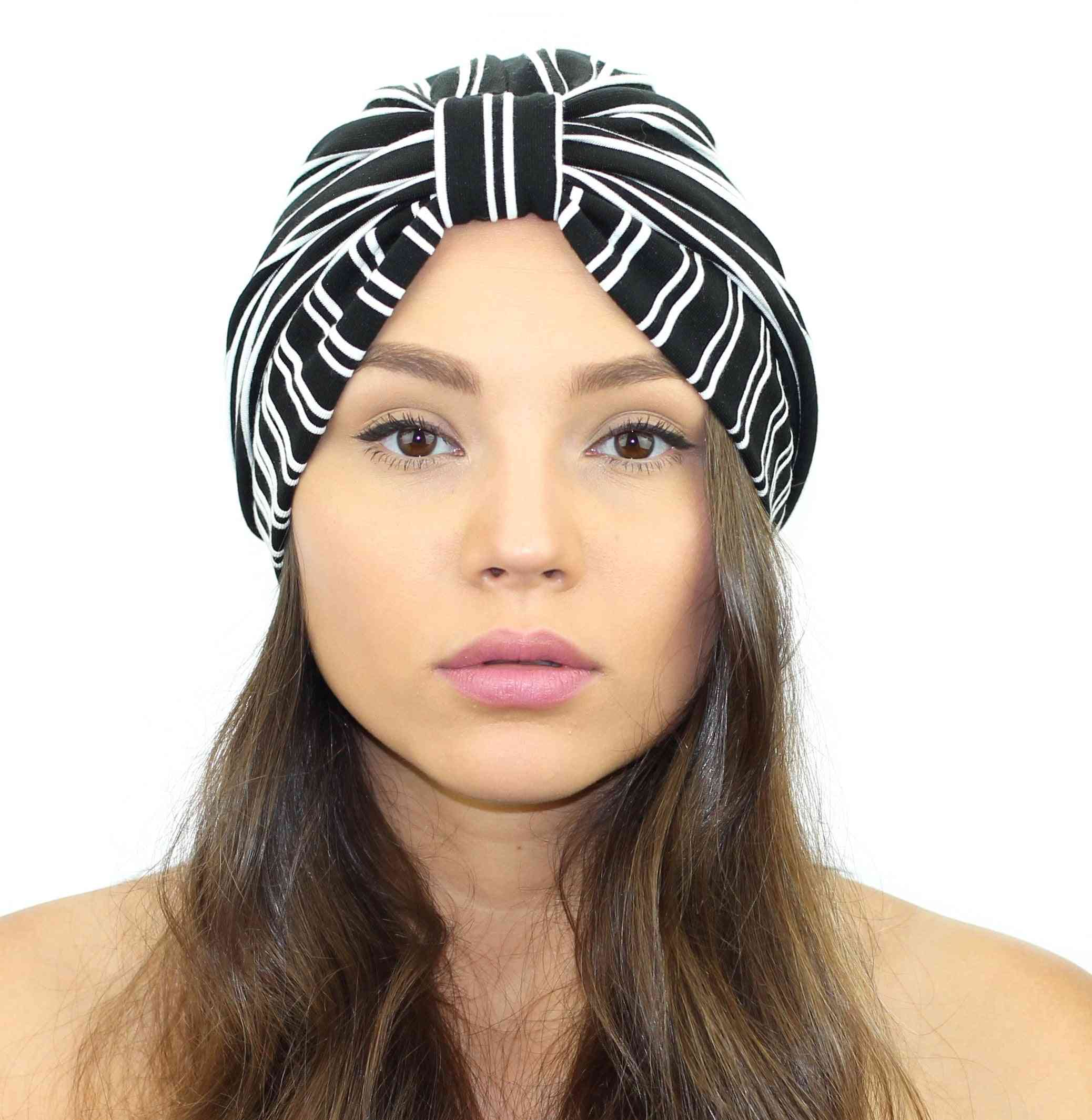 Pinstripe Turban Headband