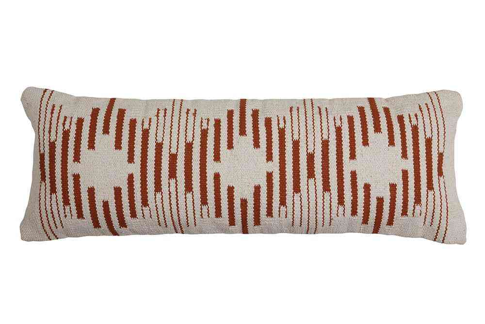 Handmade Diamond Lumbar Pillow