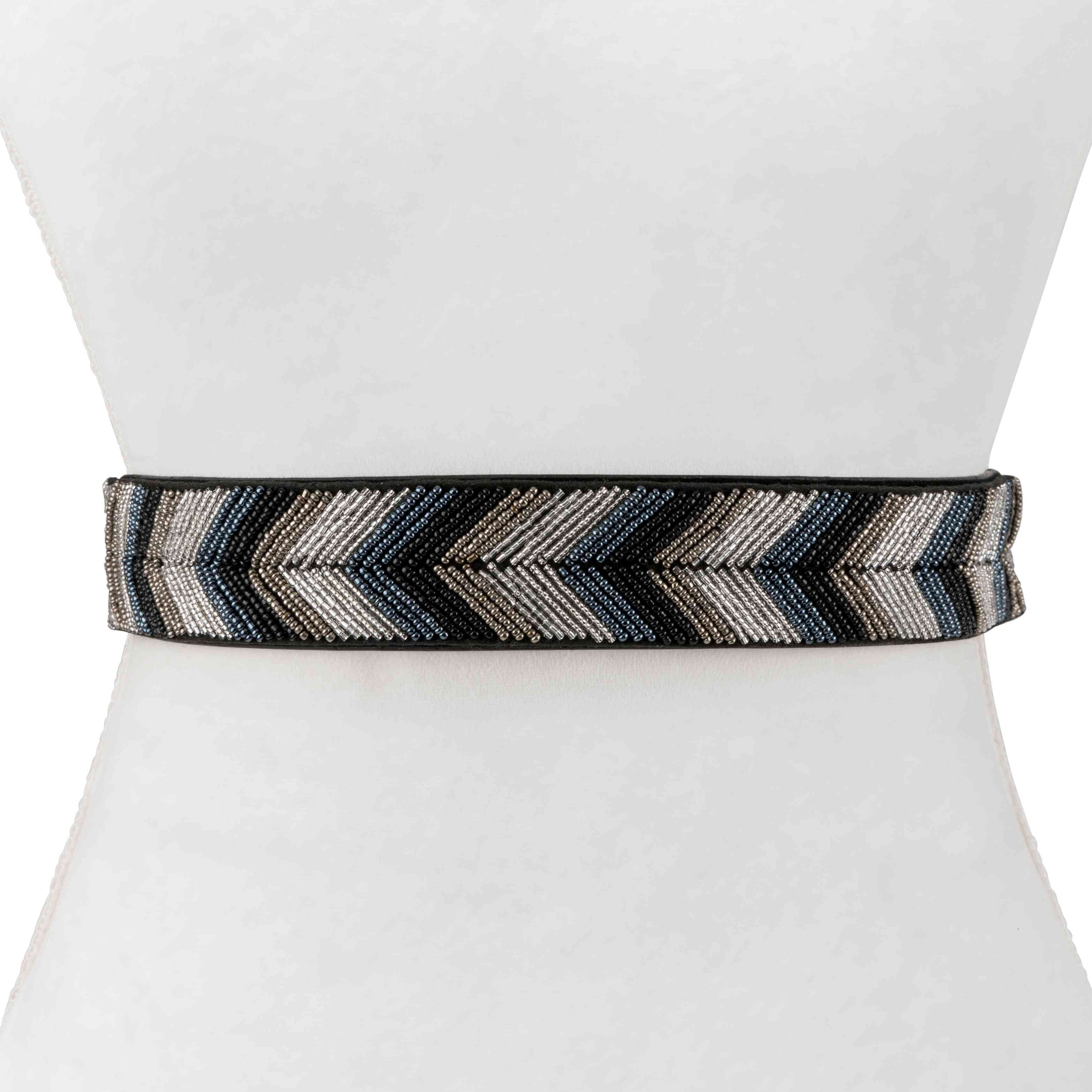 Arrow Bead Stretch Belt