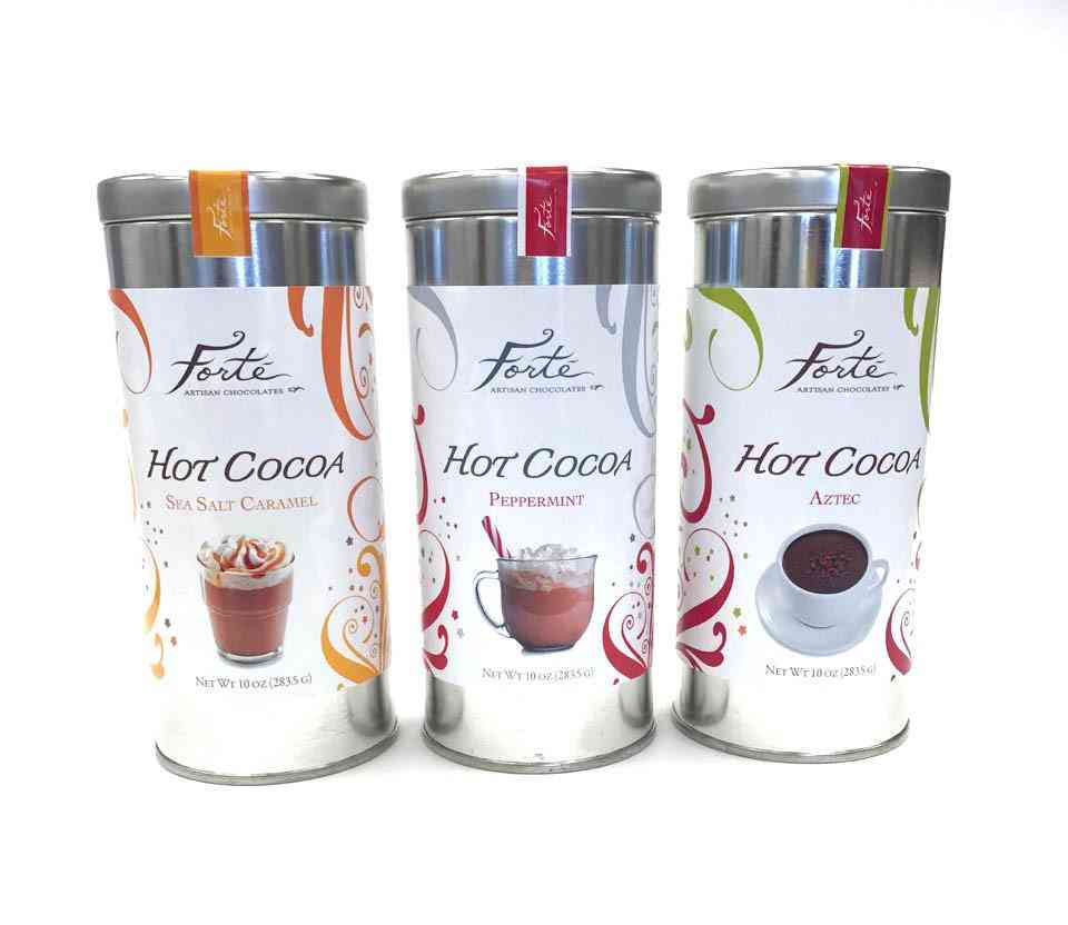 Chocolate's Hot Flavoured Cocoas!