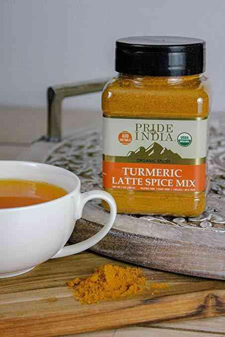 Organic Turmeric Latte Tea Spice Mix