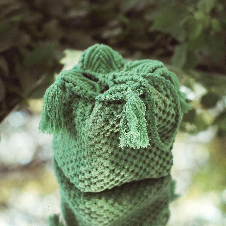 Spring & Summer Soft Cotton Tassels Box Bag
