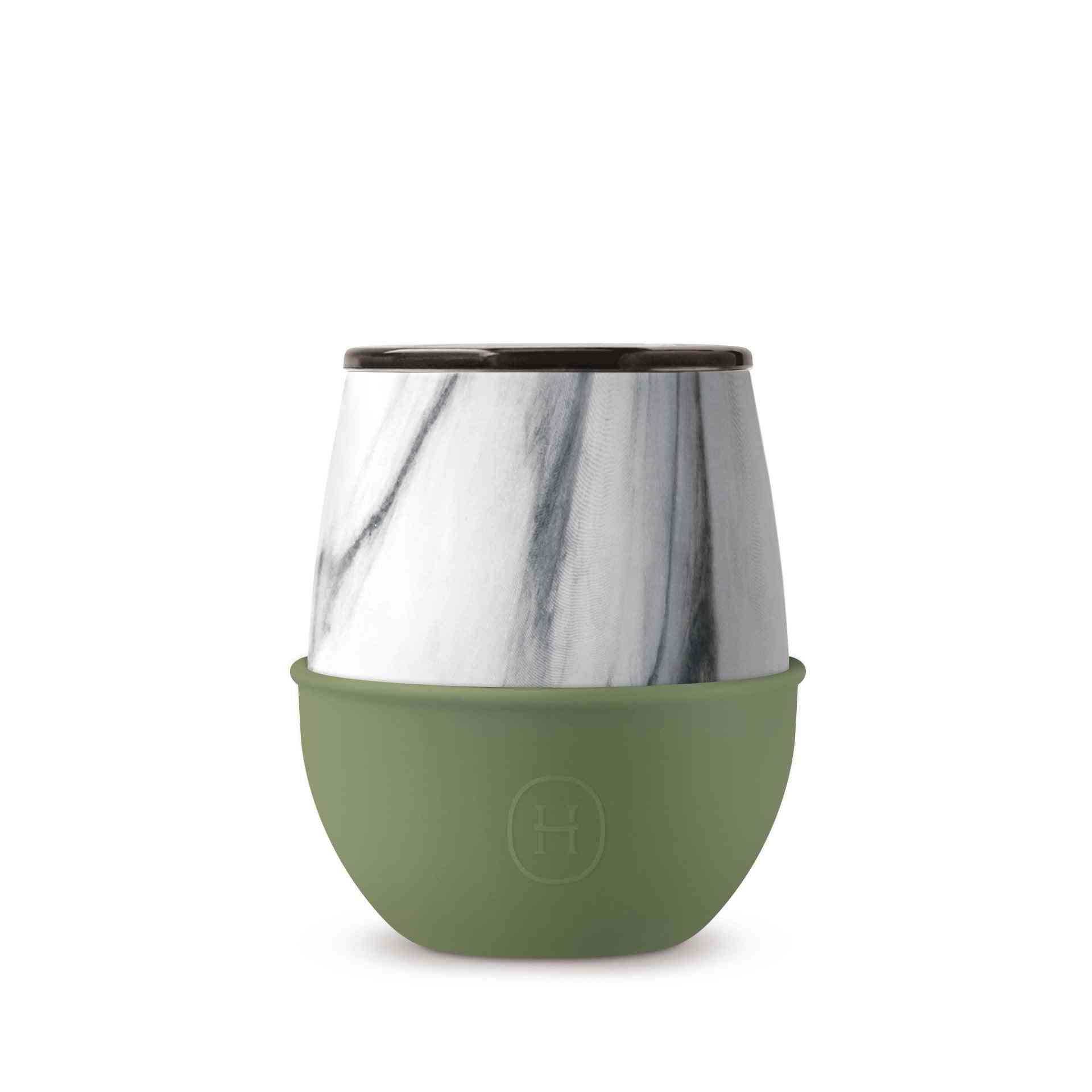 Marble Design, Double Layer Tumbler