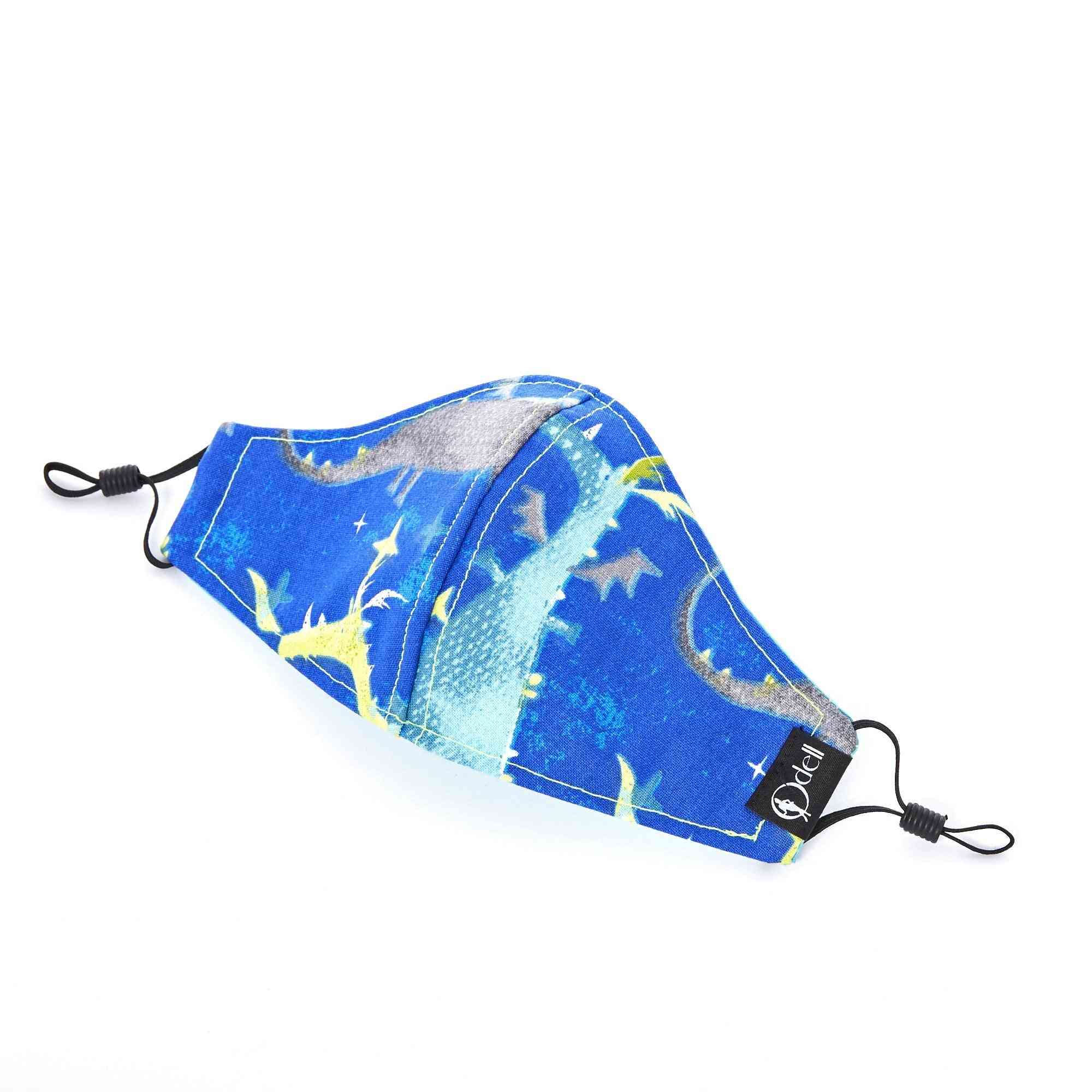 Kids Cotton Cloth, Light-weight, Breathable Mouth Mask