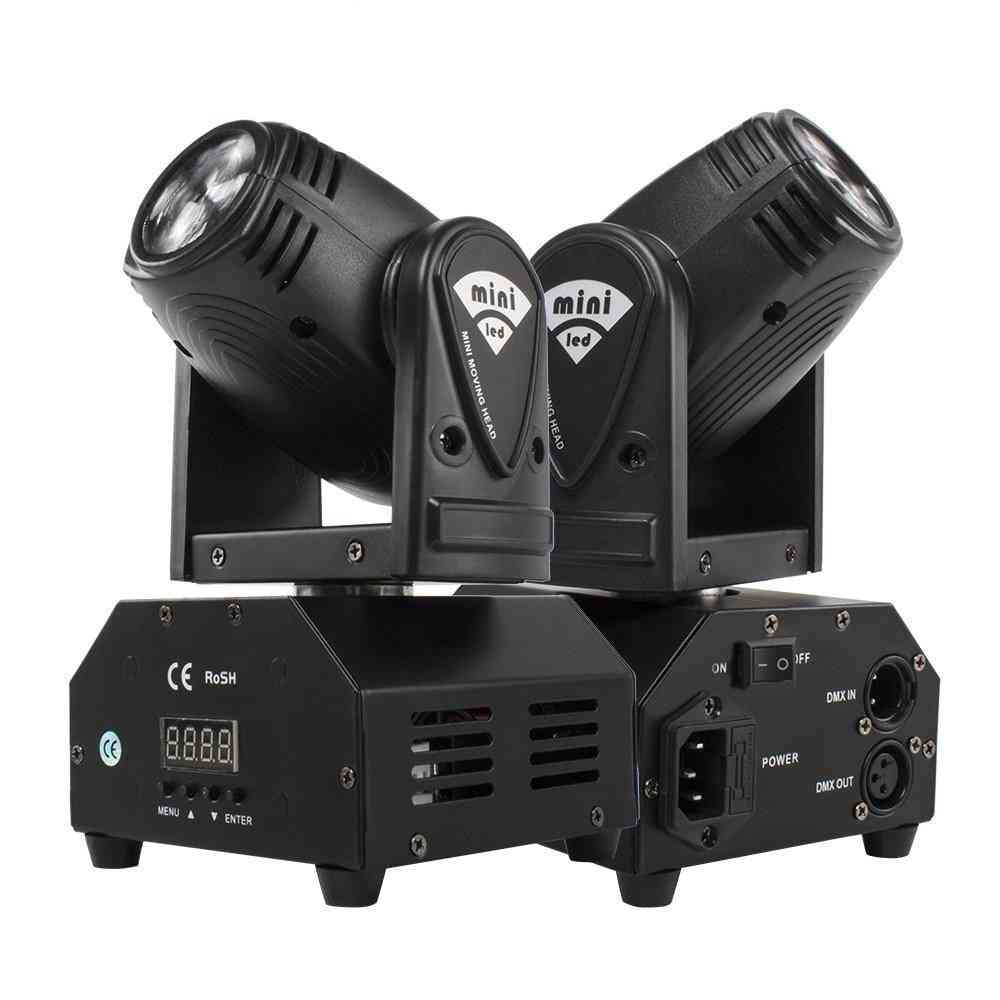 Mini 10w Beam Moving Head Light Rgbw 4in1 For Party Disco Dmx