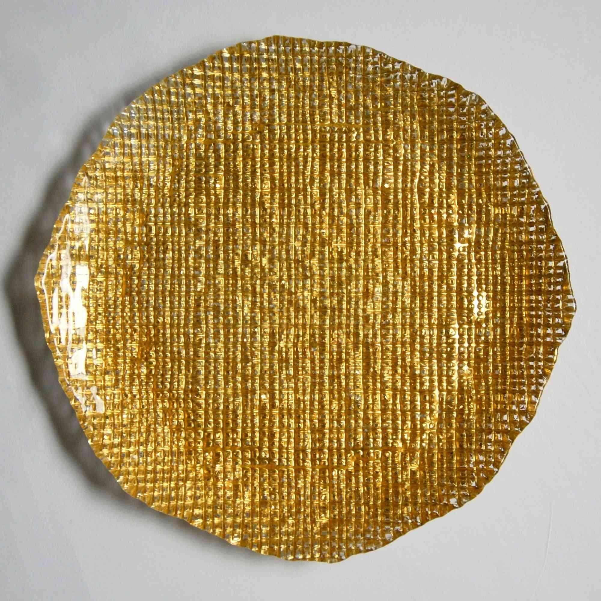 Deep Textured Dinner Plates