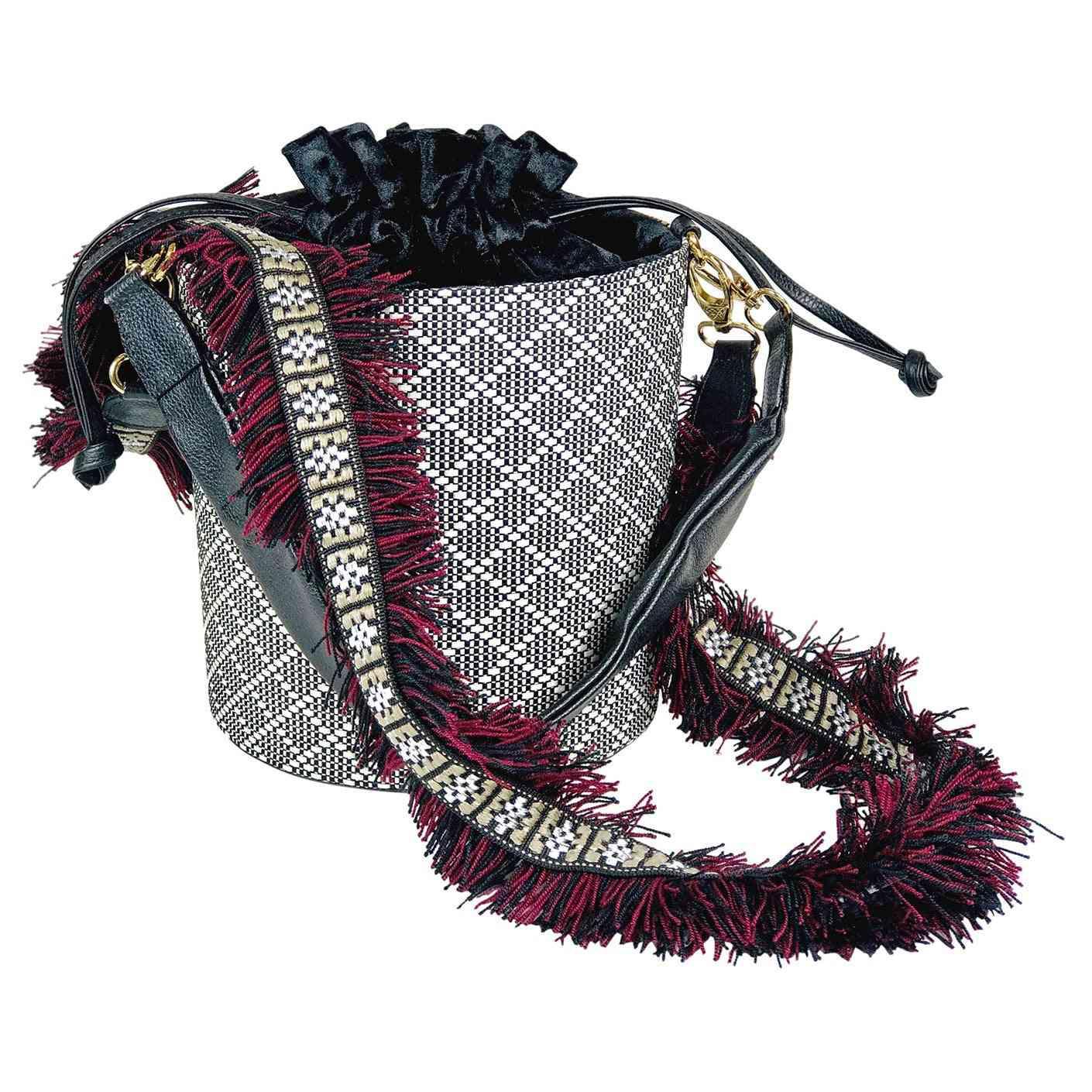 Earthy Tone Handcrafted Handbag