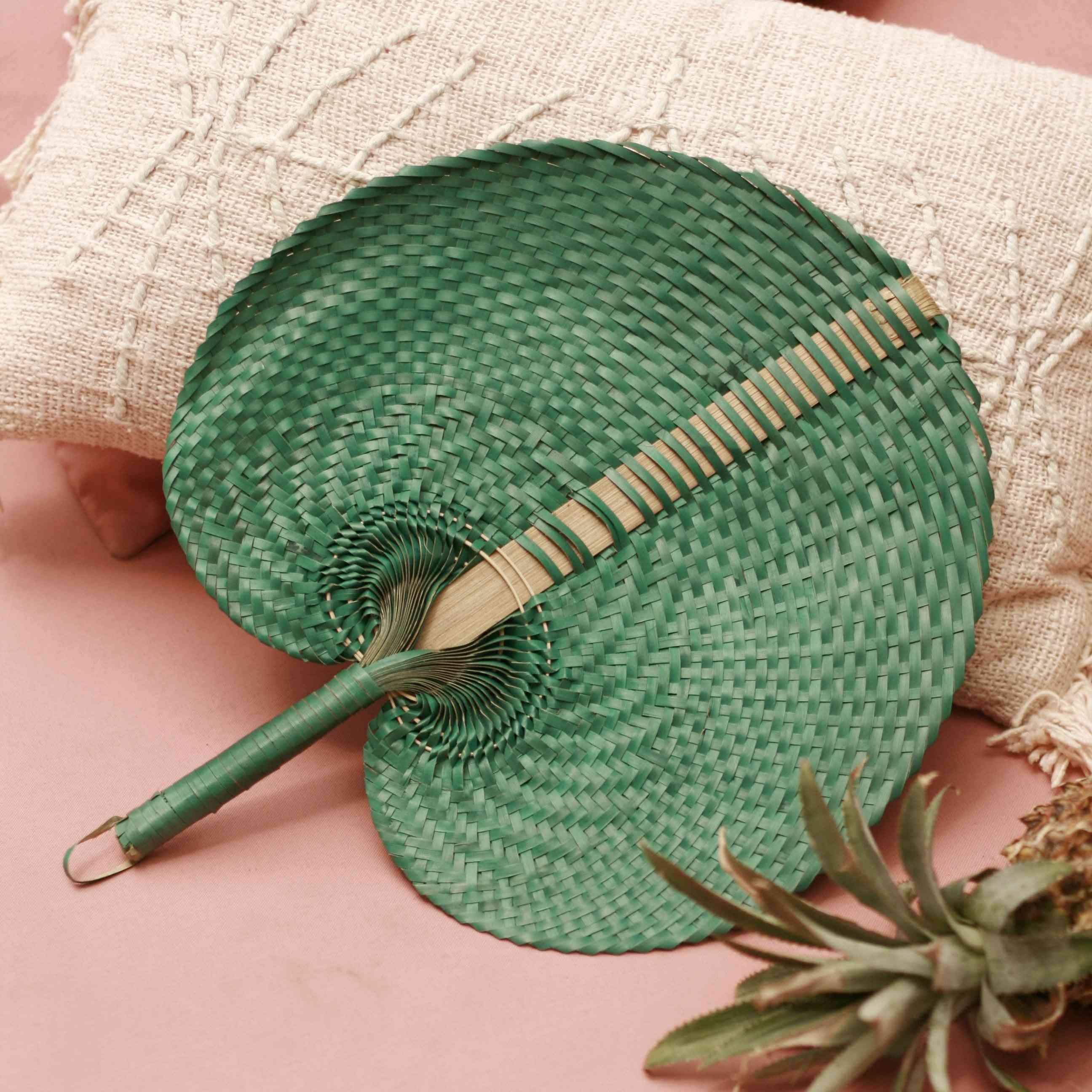 Straw Woven Hand Fan