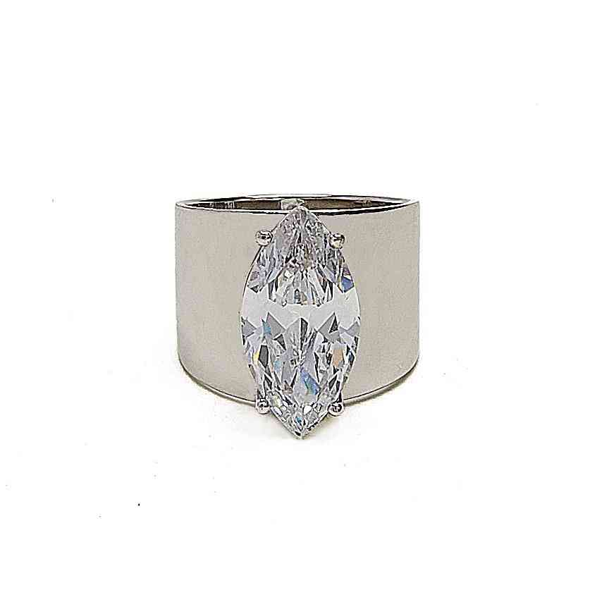 Cz Stone Ring By Kristin Perry