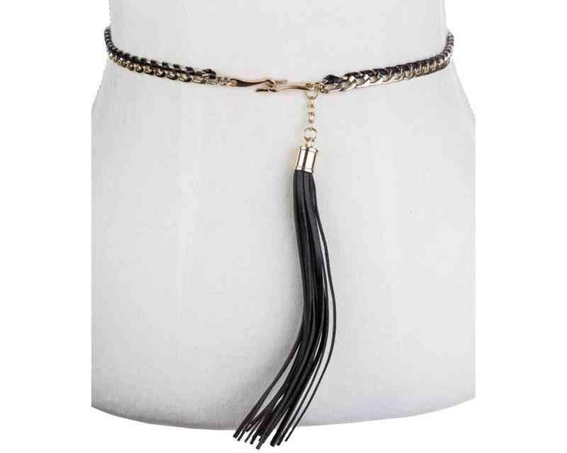 Handmade Woven Tassel Belt