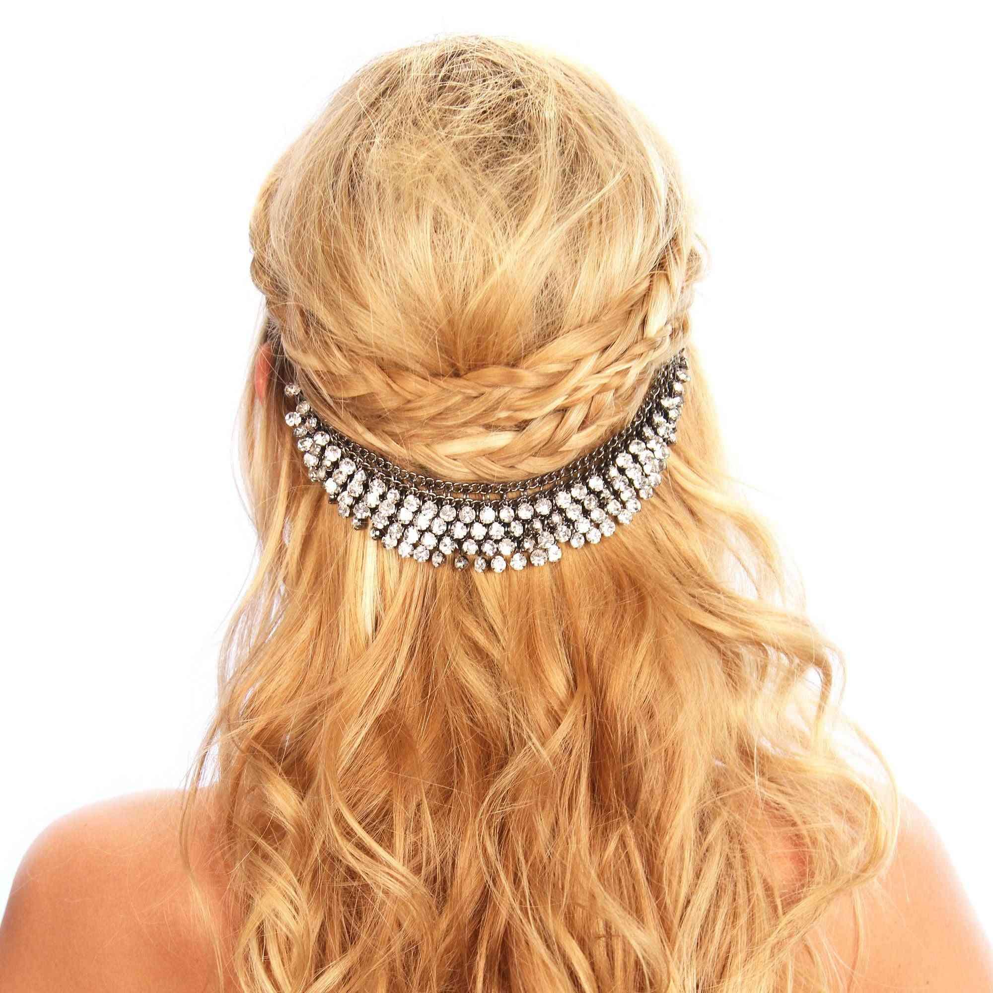 Sparkling Rhinestones Hair Grip