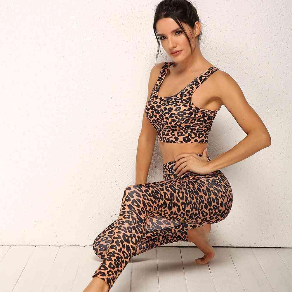 Yoga Fitness Bras And Pants Slim-fit Set