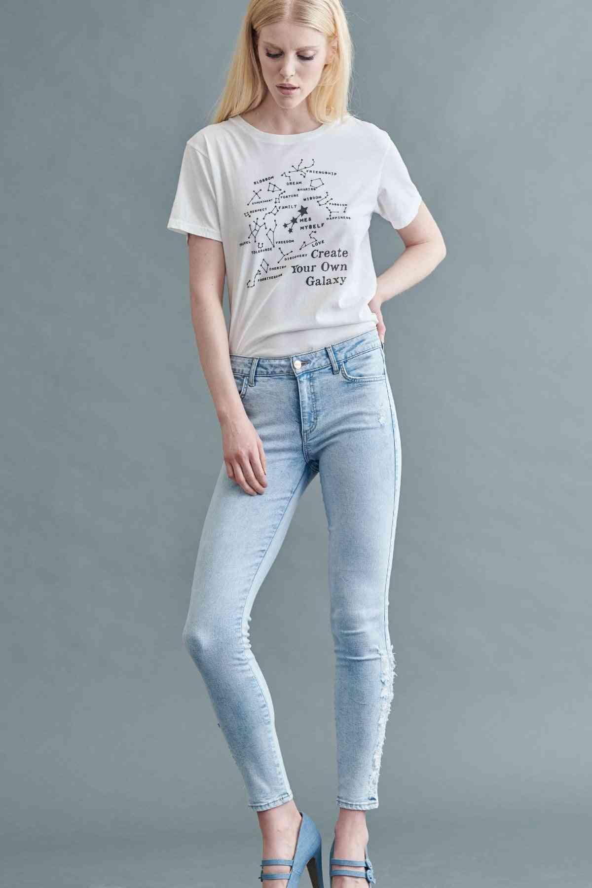 Lynette Mid-rise Skinny Pants