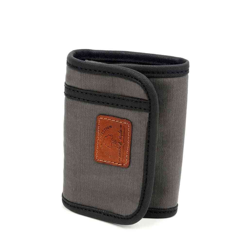 Light Coated Canvas Wallet