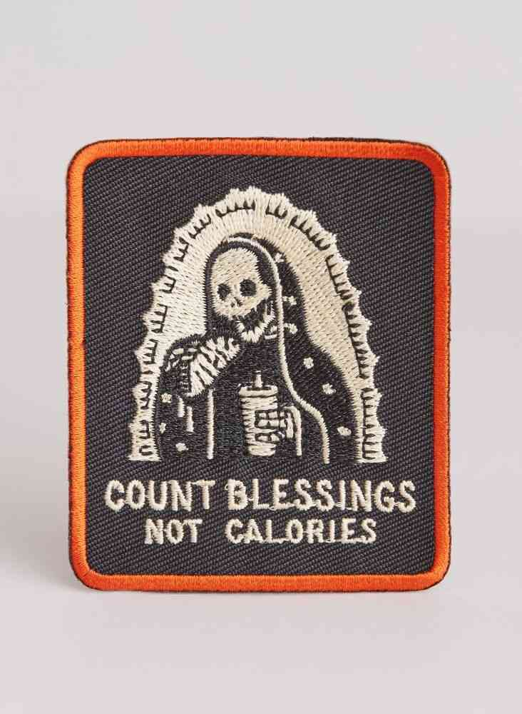 Count Blessings Not Calories Patch