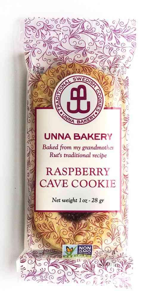 Raspberry Jam Drop Cookies