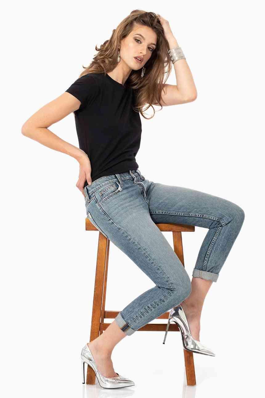 Women's Cotton Casual Jeans
