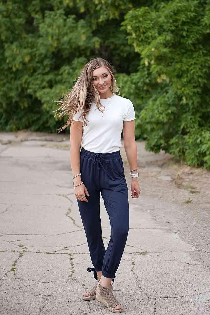 Tie-ankle Super-soft Pants
