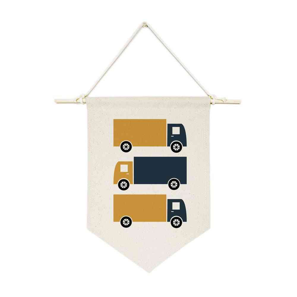 Hanging Wall Banner