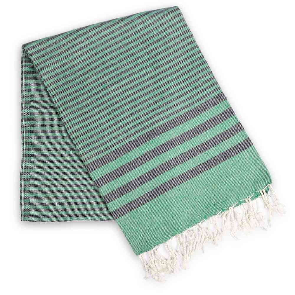 Striped Natural Cotton Towel